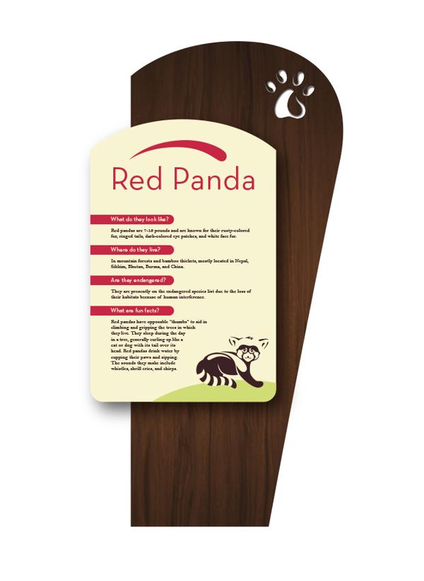 国内外动物园标识牌设计对比 - 郑州导向标标识设计